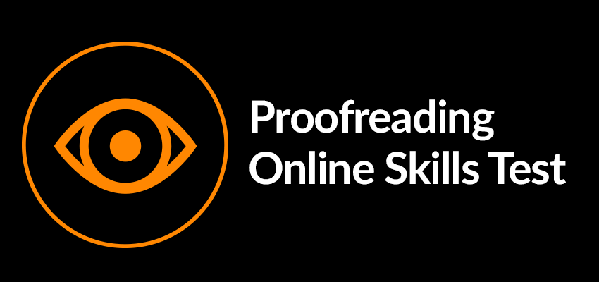 Proofreading services online tests